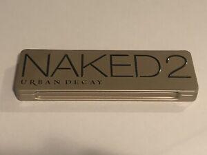 Urban Decay Naked 2 12 Eyeshadow Palette + Brush Full Size Authentic Naked2 New!