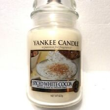 Yankee Candle 22 oz 623 g Spiced White Cocoa Festive Collection New Mothers Day