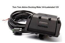 TOMTOM/TOM TOM RIDER V4 Model 2013 ACTIVE DOCKING SHOE HALTERUNG+LADEKABEL 12V