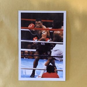 1986 Mike Tyson Rookie Card A Question Of Sport - Good Condition - See Photos