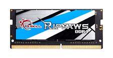 16GB G.Skill 2400MHz DDR4 SO-DIMM Laptop Memory CL16 1.2V PC4-19200 Ripjaws DDR4