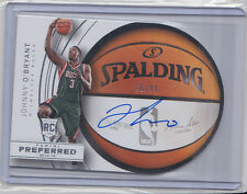 Johnny O'Bryant 2014-15 Preferred *Round ball Rookie Autograph* /99