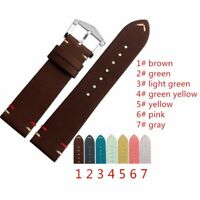 Vintage Calf Leather Straps for Rolex Tudor and Seiko Watches With Buckle + Tool