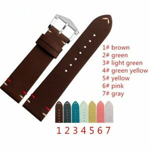 Vintage Calf Leather Straps for Omega and for IWC Watches With Buckle + Tools