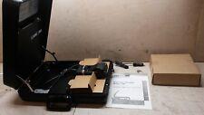 NOS Eyecom Portable Microfiche Reader Model 2100 102771 6730010555066 Briefcase