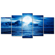 Canvas Print Picture Home Decor Wall Art Photo Paintings Blue Seascape Framed