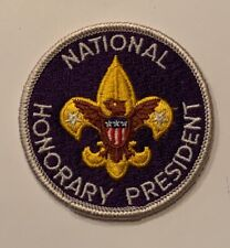 BSA National Office Patch - Honorary President (darker purple)