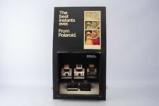 Polaroid SX-70 Camera Store Shop Counter Display Brochure Holder V16