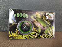 New Mint Sealed Australian Native Frogs Limited Collectors Medallion Cover Pack