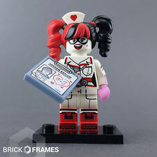 Lego Nurse Harley Quinn Minifigure - BRAND NEW - The Batman Movie Series