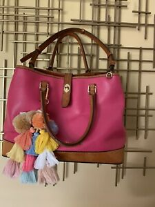 Dooney & Bourke leather CLAREMONT/PERRY Satchel