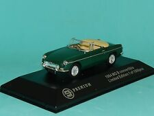 Triple 9 Collection 1/43 Scale 1964 MGB Convertible Green L/E MiB