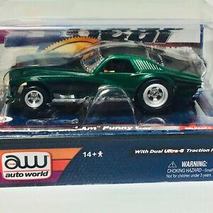 Auto World Pontiac Grand Am Funny Car, Brewster Green, 4Gear, New Sealed