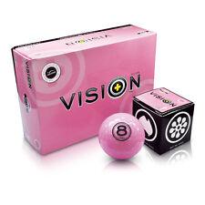 "Vision Golf ""The Gel–Pinky"" (pink - 6 St.) - Golfgeschenk,Golfbälle,Golfzubehör"