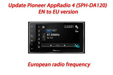 Update Pioneer AppRadio 4 (SPH-DA120) UC to EU version. European frequencies