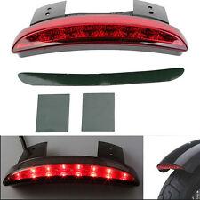 12V Fender Edge LED Brake Tail Light For Harley Softail Slim FLS Blackline FXS z