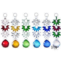 Crystal Suncatcher Rainbow Hanging Ornament Window Decor Christmas Gift