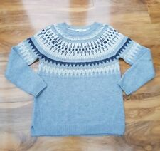 BODEN LADIES GORGEOUS Grey Wool/Cashmere Sweater WV117 SIZE S Excellent conditio