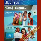 THE SIMS 4 AND CATS & DOGS Bundle - PlayStation 4 PS4 ~ Brand New Sealed