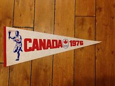 1976 Montreal Olympics Summer Games Full Sized Pennant CANADA