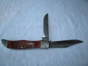 CASE XX USA 6265 SS FOLDING HUNTER TWO BLADE POCKET KNIFE