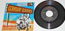 """SONS OF THE PIONEERS,""""Cowboy Classics"""" Cool Water + 3 more""""   45EP"""