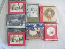 Christmas cards set/7 boxes, new