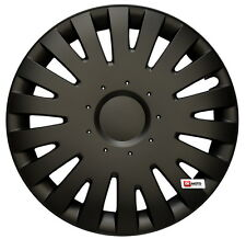 "15'' Wheel trims fit Fiat Punto Doblo 15""  - black  4x15''"