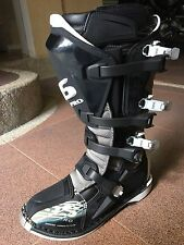 BMW Boot Genuine Motorcycle  GS Pro Riding Boot Black/ Gun US 9  Euro 43