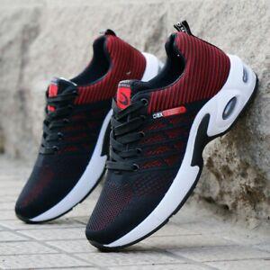 Men Running Outdoor Tennis Sneakers Sports Casual Walking Shoes Cushion