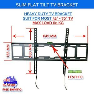 5 pcs LCD LED Plasma Flat Tilt TV Wall Mount Bracekt 37 40 42 50 55 60 62 65 70