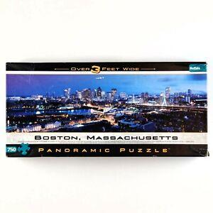 Puzzle Boston MA Panoramic Cityscape Buffalo Games 750 Piece Jigsaw