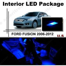 For Ford Fusion 2006-2012 Blue LED Interior Kit Package