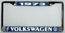 1973 Volkswagen VW Bubblehead Vintage California License Plate Frame BUG BUS T-3
