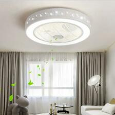 LED Ceiling Fan Light Remote Control Star Lamp Dimmable Bedroom Office Modern