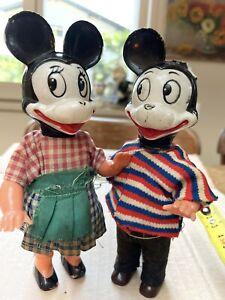 figurine mickey Minnie