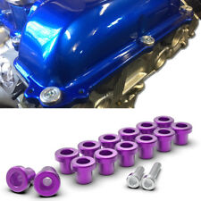 ROCKER COVER GROMMET WASHER BOLT SET KIT fit NISSAN 200SX S13 PS13 SR20 PURPLE