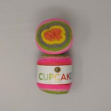 Lion Brand Cupcake Yarn Spring Break 2 Skeins 150g 590yd