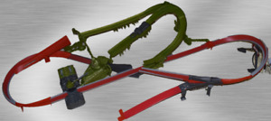 Hot Wheels 2005 AcceleRacers Swamp Beast playset complete