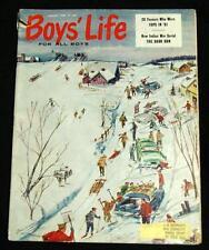 BOYS LIFE MAGAZINE JANUARY 1962 VINTAGE BOY SCOUTS OF AMERICA - PETER VAN SCOZZA