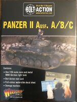 Panzer II Ausf. A/B/C Light Tank 28mm Warlord Games Bolt Action AWESOME!