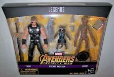 Entertainment Earth Marvel Legends Thor Rocket and Groot Action Figures