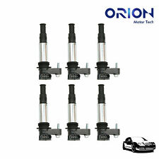 Set of 6 Ignition Coils on Plug Pack for 9-3 Acadia Enclave Traverse STS D501C