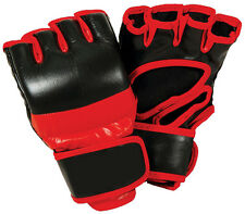 Pro MMA Gloves Genuine Leather for Professional Fighter. No Tax, FREE SHIPPING