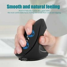2.4G Wireless Vertical Ergonomic Optical Rechargeable 1600 DPI Gaming Mouse FOY