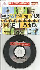 RADIOHEAD Just RARE UNKLE MIX & Killer Cars MOGADON Version CD single USA seller
