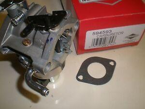 OEM 18hp Briggs & Stratton intek Carburetor 594593, 794572, 793224 Carb