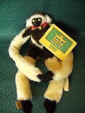 "Wild Republic Hanging Monkey 11"" environ Jouet Doux Peluche Teddy Avec Tag"