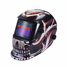 Nuzamas Solar Powered Auto Darkening Welding Helmet Mask Weld Face Protection FO