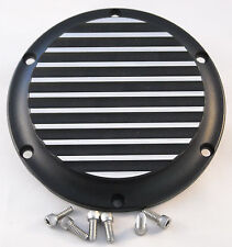 Harley Davidson Sportster Derby Cover Finned Black Two Tone 2004-2016
